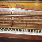 Harbourne Upright Piano Front Cover Removed