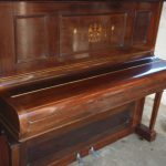 Harbourne Upright Piano with Lid Down