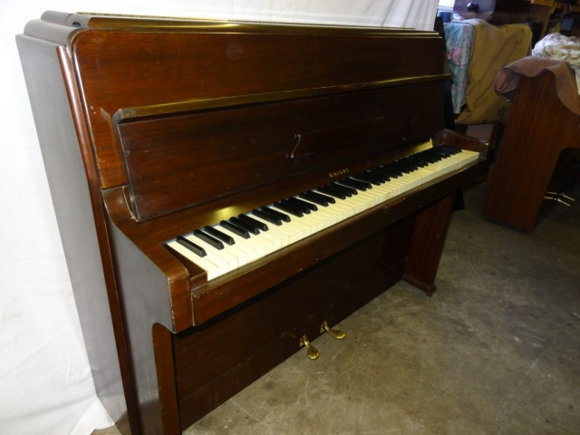 Knight Upright Piano in Mahogany Case 8