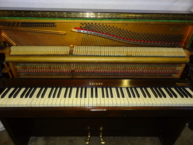 Knight Upright Piano in Mahogany Case 7