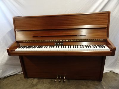 Knight K10 Upright Piano in Mahogany Case 1