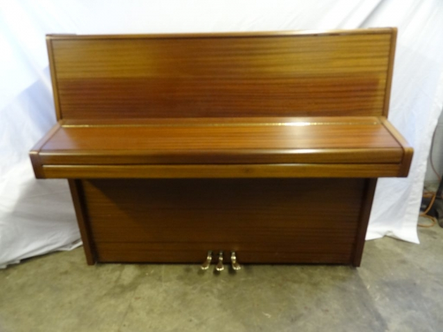 Knight K10 Upright Piano in Mahogany Case 5