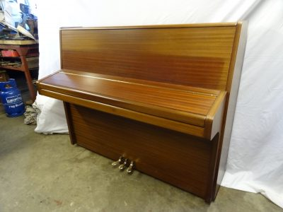 Knight K10 Upright Piano in Mahogany Case 6