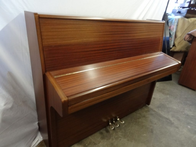 Knight K10 Upright Piano in Mahogany Case 7