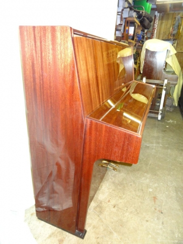Ronisch Upright Piano in Rosewood Case image 3