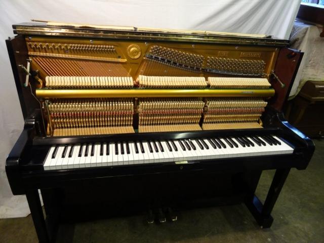 Young Chang U121 Upright Piano, Black Polished finish