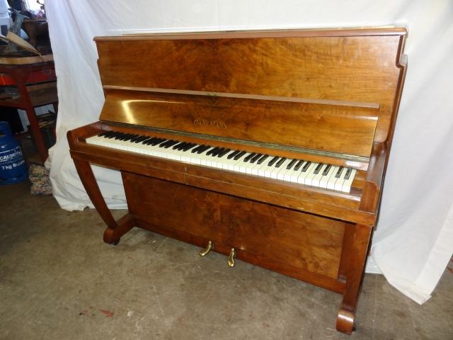 Danemann Walnut Upright Piano Image 2