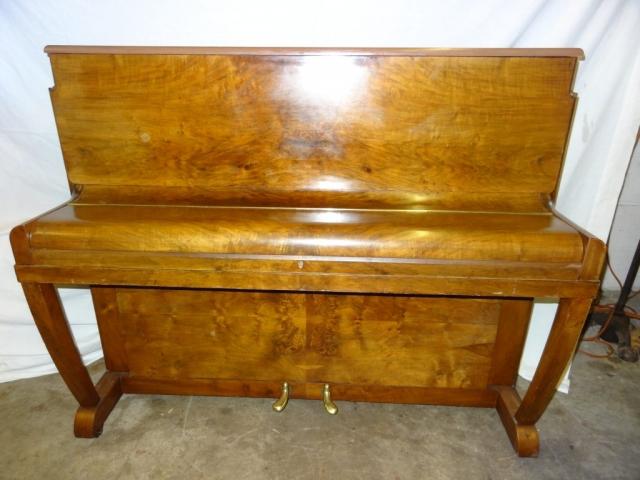 Danemann Walnut Upright Piano Image 3