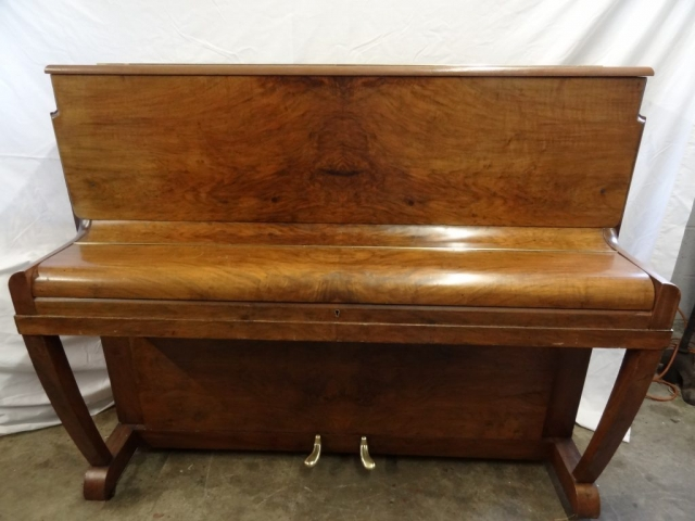Danemann Walnut Upright Piano Image 4