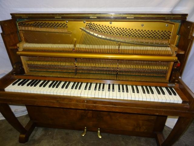 Danemann Walnut Upright Piano Image 5