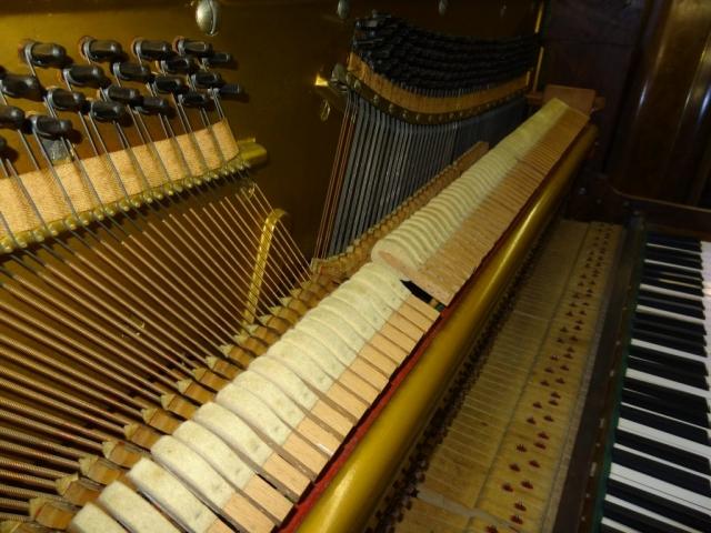 Danemann Walnut Upright Piano Image 6